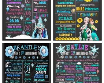 Frozen; Frozen Fever; Olaf BirthdayThemes