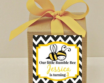Bee Party Favor Bags Crafthubs