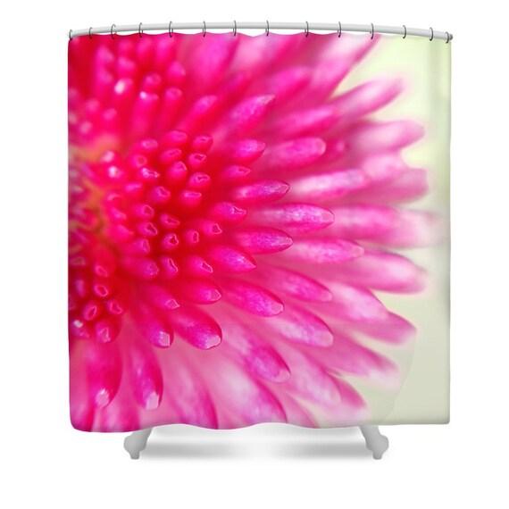 rosa badezimmerdekor blumen duschvorhang flower power. Black Bedroom Furniture Sets. Home Design Ideas