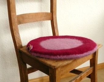 cushion felted and round, felt cushion, pillow case, pillow cover, cushion cover