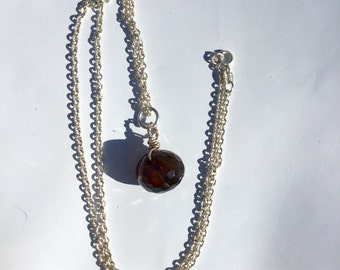 """Thick Sterling Silver Link Chain Necklace 20"""""""