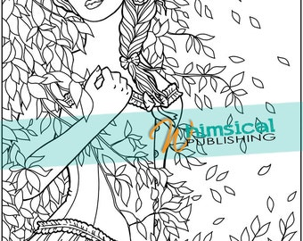 Snow White Fairy Tale coloring pages by WhimsicalPublishing