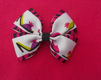 High Heel Hairbow
