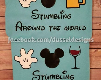 Epcot Food and Wine Festival T-Shirt - Stumbling around the world