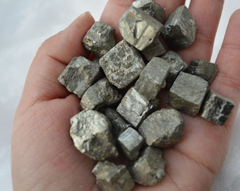 10pcs Fresh Raw Pyrite Chip, Rough Golden Yellow Pyrite chunk, Excellent Fools's Gold,Raw Gemstone, Rough Gemstone Chunk