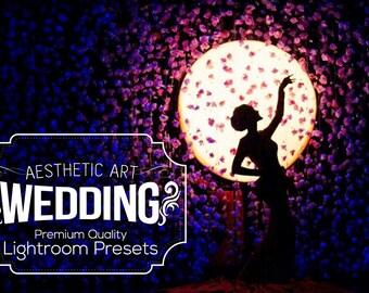 Aesthetic Wedding Lightroom Presets