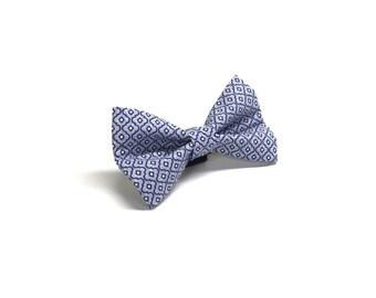 Dapper Dog in Blue Dog Bow Tie