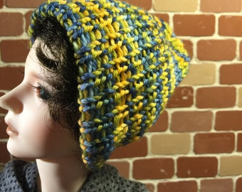 Spring colored knitted cap SD