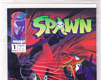 Spawn 1. SEALED, Pedigree Comics Limited Edition comic, NEW book, Todd McFarlane art, Image comics,  Horror. 1992 in NM+ (9.6)