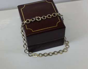 Old 800 silver bracelet link bracelet SA137