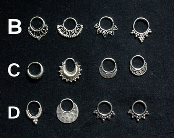 COLLECTION SILVER SEPTUM (1.6mm)