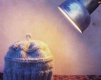 Himalaya Hat Knitting Kit with Alpaca & Merino yarn (so soft, so warm!)