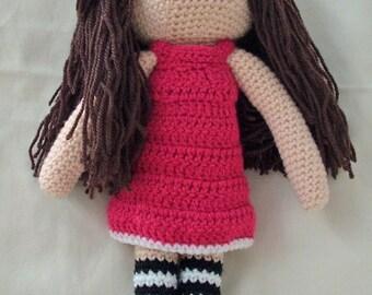 Crochet, Amigurumi doll, soft toy, rag doll