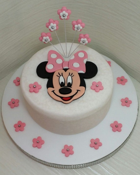 minnie mouse cake topper minnie mouse edible cake topper set 5944