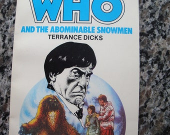 Doctor Who - And the Abominable Snowmen - Target Paperback Book