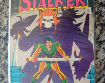 Stalker  Issue 1 1975 comic Book