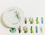 Wanna Hug - Cactus Washi Tape