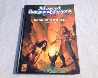 Dungeons & Dragons Book of Artifacts