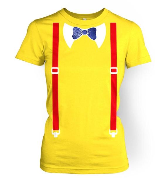 Tweedle Dee and Tweedle Dum Costume womens t-shirt by BigMouthUK