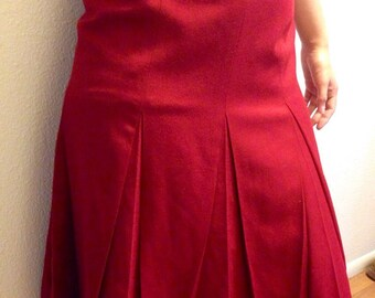 FIVE DOLLAR SALE vintage 1940's style size 4 skirt from Talbots
