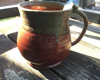 Large two toned mug