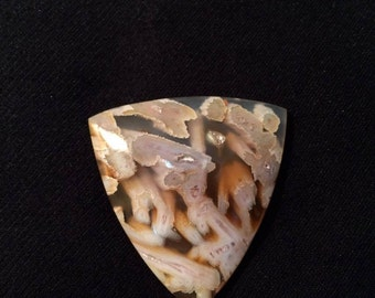 Türkish tube agate cabochon