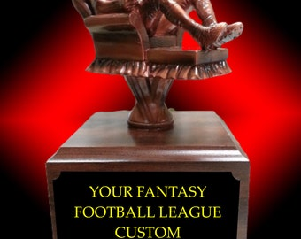 Couch Potato Fantasy Football Trophy