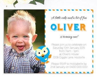 Giggle and Hoot Birthday Invitation - Printable Giggle and Hoot Invitation - Birthday Invitation - Jimmy Giggle - Personalized Invitation