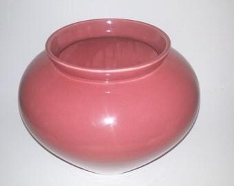 "Haeger Pottery ""Salmon"" Vase"