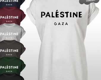 Palestine Gaza T-Shirt Paris Celine Save Tee Top Unisex White Black Grey Tumblr Instagram Blogger