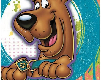 Here Comes Scooby-Doo! ''Paint Splatter'' Luncheon Paper Napkins 16ct