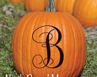 5 inch Pumpkin Decal