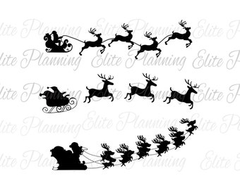 Christmas Wreath SVG, Reindeer Cutting Files, EPS, JPEG, Came, Cricut, Silhouette, Vector Files, Clip Art, Holiday dfx, Cut Files, Svg