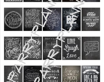 Printable Chalkboard Quotes