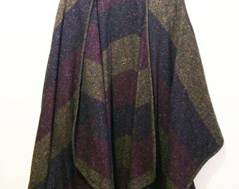 Wool Blend Open Wrap Free Size