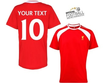 Kids 100% OFFICIAL Liverpool Personalised Football Team Jersey Shirt 2015/16 Birthday Christmas Gift For Children *GIFT BOXED free*