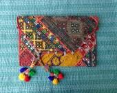 banjara clutch bag/banjara patchwork clutch bag/banjara handmade bag/ethnic bag