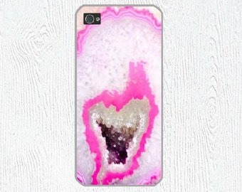 Agate iPhone 6 case, Geode iPhone case, Rubber iPhone 6 Case, iPhone 5 case , iPhone 5c case, iPhone 6s case, iPhone 6 plus case
