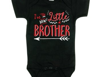 Little Brother Shirt - Little Brother Hipster shirt - Brothers sibling shirt, BBSib