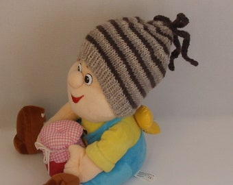 Striped hand knitted knit hats for baby boy girl babies hat warm hats for babies slouchy baby beanie knitted baby clothes