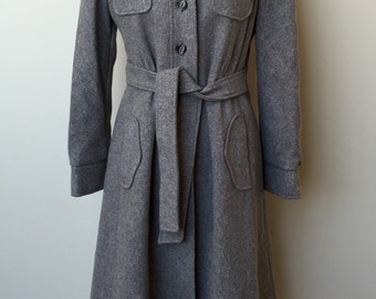 1970's VINTAGE SEARS COAT-Snowbunny Coat