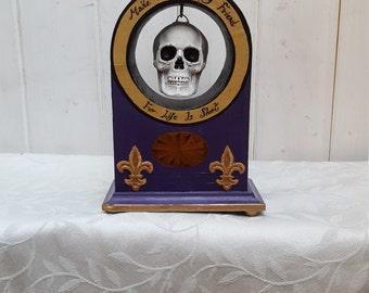 Gothic ornament, skull ornament, medieval ornament, vintage ornament