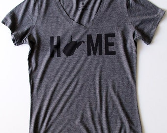 T-Shirt - West Virginia HOME Women's Tee