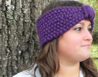 Knit Turban Headband