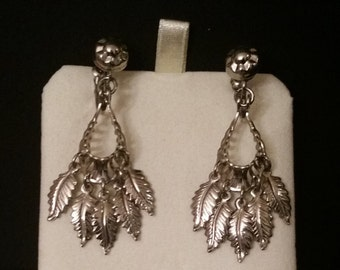 Native American feather headdress earings
