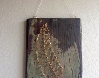 Feather String Art * LIMITED EDITION *