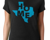Texas Home Shirt Texas State Shirt Texas Home T Shirt Texas Born and Raised Home State Shirts Texan Texas Native Shirt