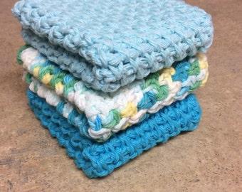 Dishcloth, Washcloth - Set of 3