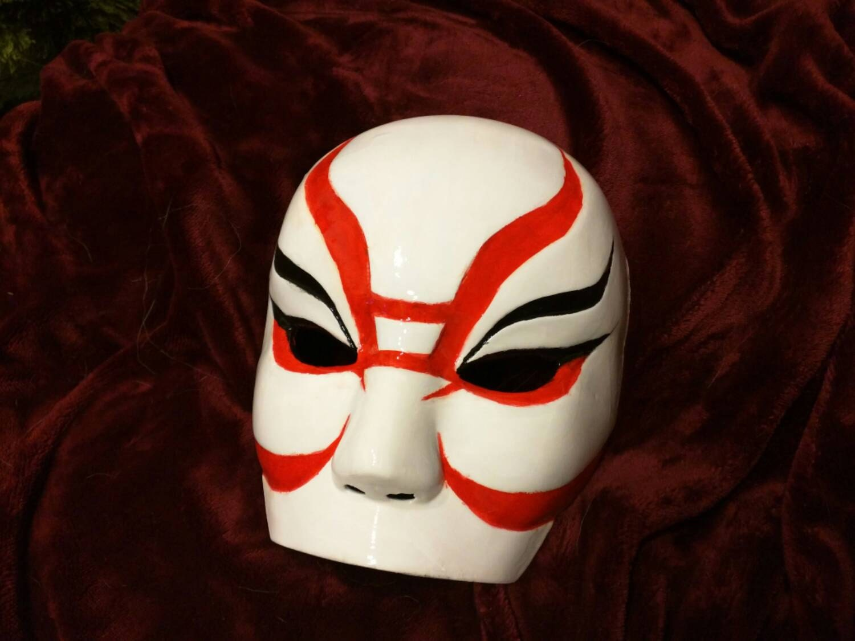 Mad Max Immortan Joe's mask cosplay 3D printed and hand