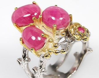 Mozambique Ruby Ring...one of a kind very unique!